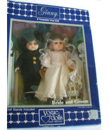 Vintage Ginny Bride and Groom Vogue Doll MIB 1985 Dolls  - $99.00