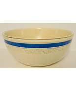Vintage Mixing Bowl Blue Band Kitchen Craft Jewel Tea Country - $45.00