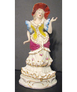 Vintage Wales Figurine Lady Bone China Collectible - $30.00