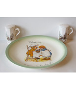 Vintage Holly Hobbie Plate and NOS Salt and Pepper Set 1970s Collectible... - $30.00