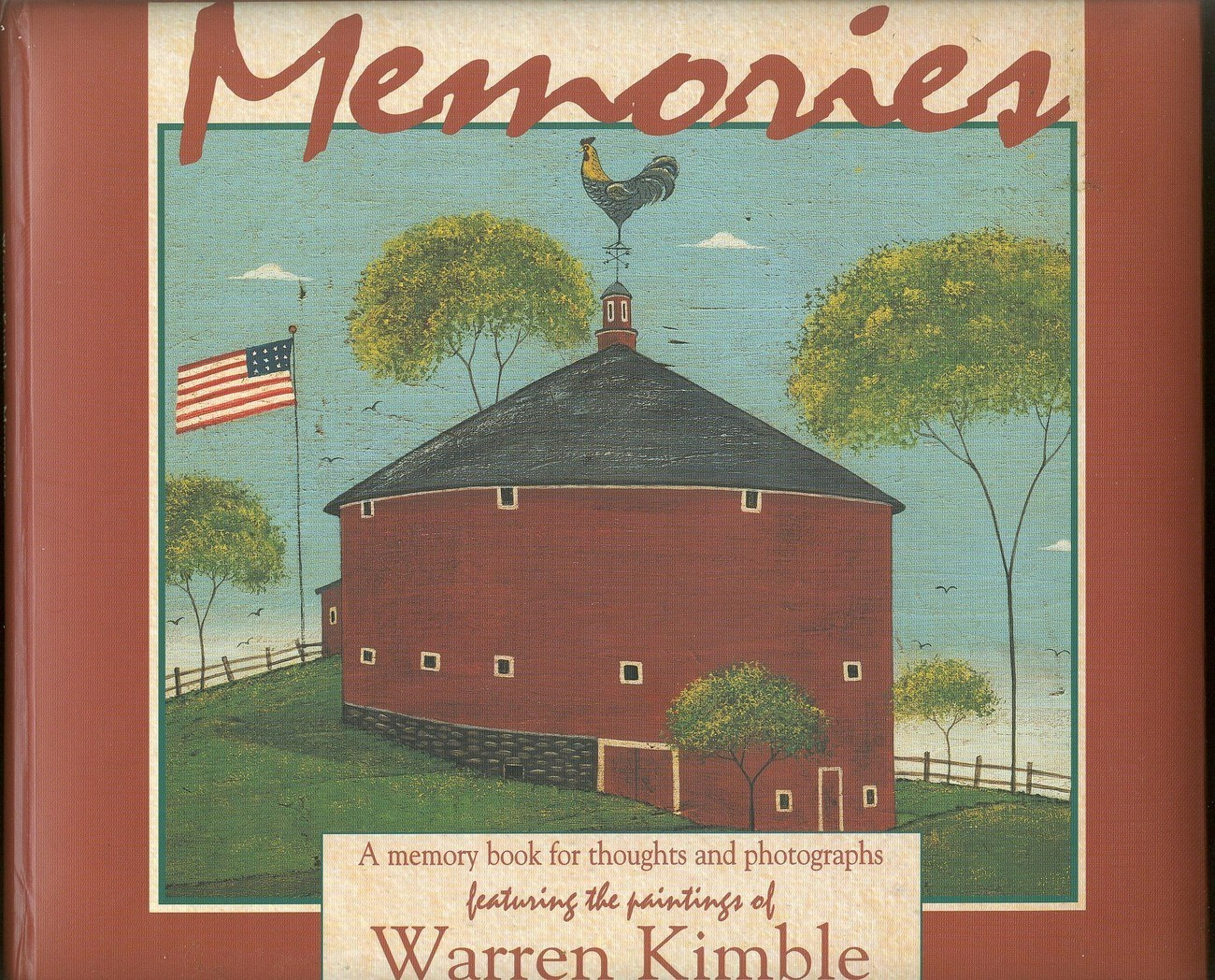 Memories:A Memory Book for Keeping Thoughts and Photographs by Warren Kimble;NEW