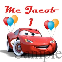 Cars Birthday Shirt Iron On, Personalized Disney Cars Iron On - $3.00+