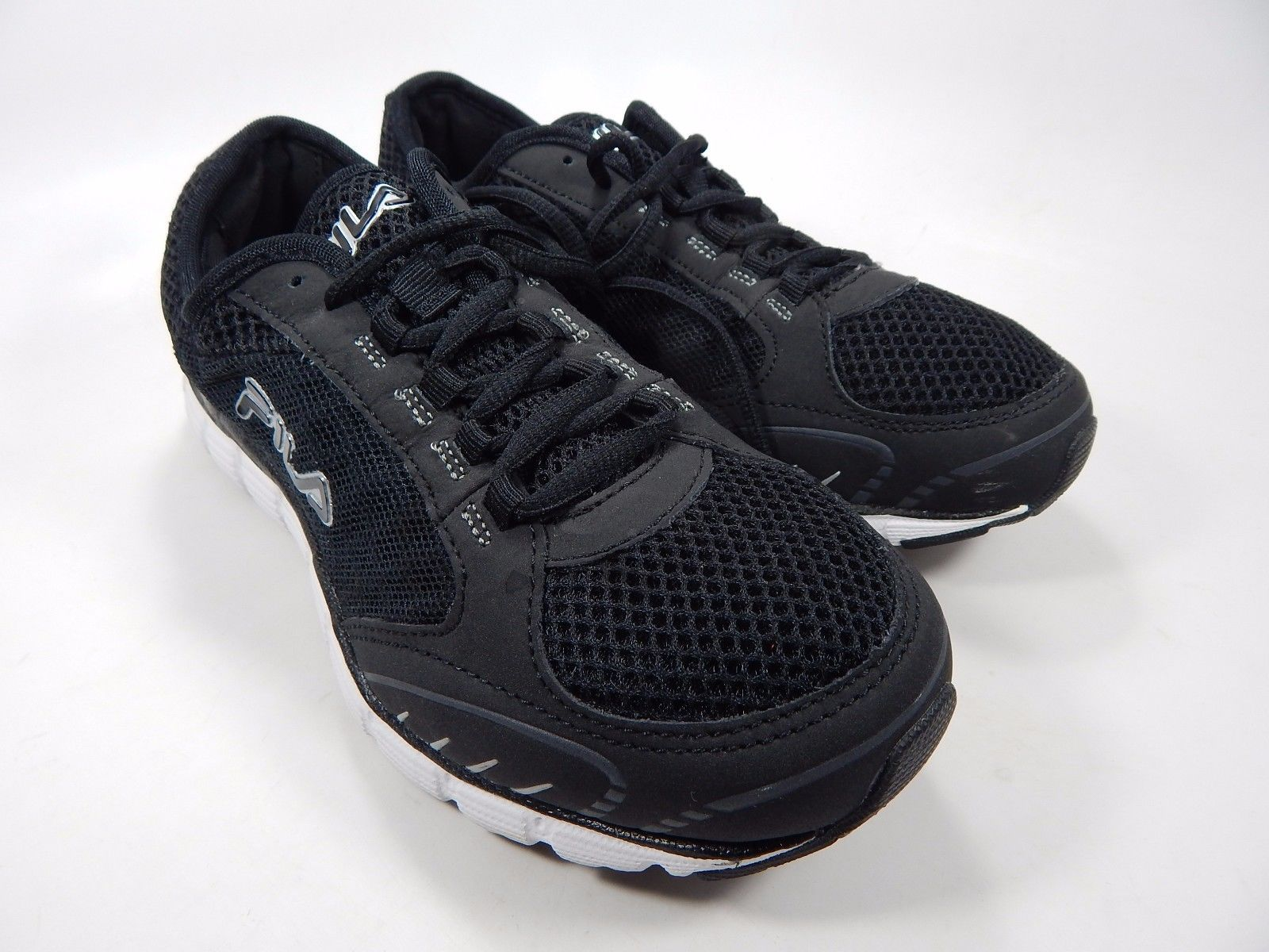 Fila Memory Deluxe 4 Women's Athletic Shoes Size US 7.5 M (B) EU 38.5 Black