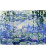 Claude Monet Water Lilies Puzzle 1000 pcs Jigsaw puzzles TOMAX Art Vinta... - $23.36