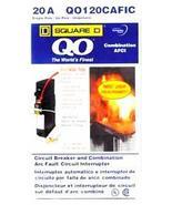 Square D QO120CAFIC 20A Circuit Breaker Arc Fault Circuit Interruptor - £30.04 GBP