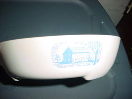Corning Ware Browning Pan #1 Amana Radarware Corning Colonial Blue House Skillet - $18.69