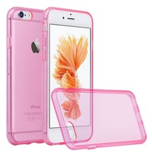 For Apple iPhone 6s 6 Plus Case Slim Transparent Clear Soft Cover Rubber... - $6.96