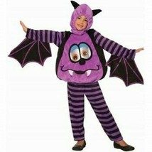 WIGGLE-EYE Bat Halloween Costume Nip Child Size Toddler 2-4 :B19-1 - $28.85