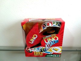 UNO Attack!  Electronic Card Launcher Game 2005 Edition, Mattel Complete! - $29.99