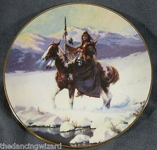 Lone Winter Journey by Chuck Ren The Last Warriors Collector Plate - $20.85