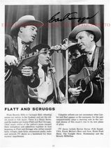 EARL SCRUGGS AUTOGRAPHED 8x10 RP PHOTO BLUEGRASS COUNTRY - $14.99