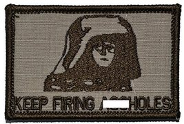 Spaceball's Dark Helmet, Keep Firing A**holes! 2x3 Military Patch / Morale Pa... - $4.89
