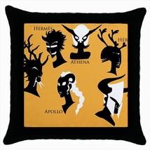 Greek Gods Hera Hermes Athena Throw Pillow Case - $16.44