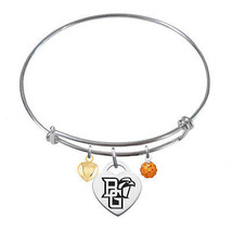 Bowling Green Falcons Sterling Silver Bangle Br... - $79.00