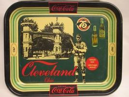 Tin Coca Cola Tray Clev Ohio 1905-1980 Anniversary Edition 75 Years - $99.00