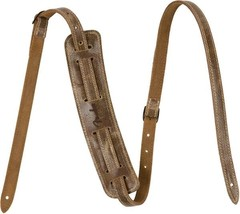 Fender®  Vintage Brown Distressed Leather Strap... - $67.49