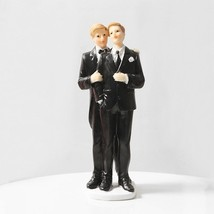 Love And Devotion 7 Inch Gay Cake Topper Figurine - $23.99
