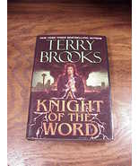 A Knight of the Word Hardback Dustjacket Book, by Terry Brooks, First Ed... - $7.50