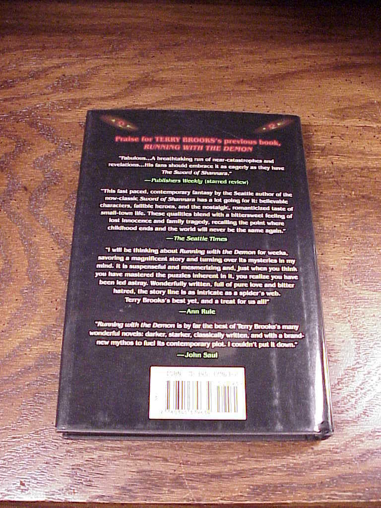 A Knight of the Word Hardback Dustjacket Book, by Terry Brooks, First Edition