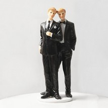 Love And Devotion 8 1/2 Inches Tall Gay Topper Figurine - $26.99