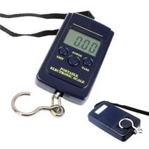 40kg numérique LCD Balance équilibre Pêche Pendant Poche pesage valise b... - $12.77
