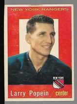 1959-60 Topps #21 Larry Popein VG - $14.83