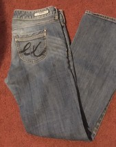EXPRESS JEANS Womens Low-Rise Jeans Barely Boot size 8S - $12.86