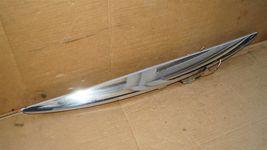 07-10 Infiniti G35 G37 4dr Sedan Trunk Lid  Finisher Trim Chrome W/ Camera image 4