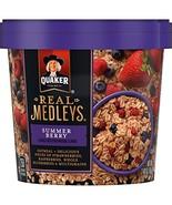 Real Medleys Quaker Summer Berry Oatmeal, 2.46 Ounce - $9.40