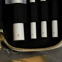 NEW Tom Ford Soleil Natural Hair Brush Set 6,11,12,16 White Case  HOLIDAY GIFT image 5