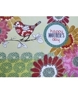 """Greeting Card Mothers Day Flowers """"Happy Mother's Day""""  - $2.50"""