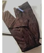 Vera Wang Simply Vera Women's Microsuede Leggings Black Sz Small Chic Co... - $22.99