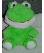 "Build A Bear WorkShop Small Flys Frog Stuffed Animal 7"" Tall - $7.00"