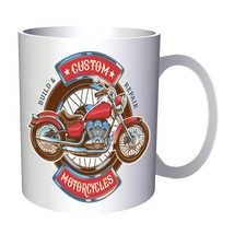 Custom Motorcycles 1990 11oz Mug m725 - $10.83