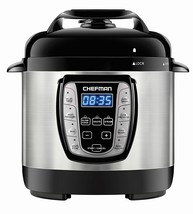Chefman 2.5 Qt. Electric Pressure Cooker Programmable Multicooker, Prepa... - €75,86 EUR