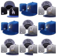 Newest  MLB Cap Milwaukee Brewers Baseball size 7 - 8 100% cotton high quality  - $24.75