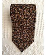 Robert Talbott Studio Tie Geometric Navy Hand Sewn Silk Necktie 58.5 x 3.75 - $11.95