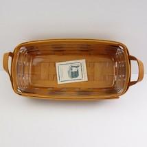 Vintage 1994 Longaberger Heartland Bakery Basket - $48.37