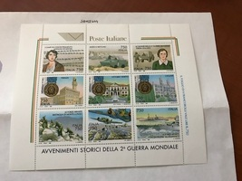 Italy End of the war s/s mnh 1995  stamps - $6.50