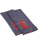 """DII Out West 100% India Cotton""""Howdy"""" Embellished Dishtowel, Lot of 2 - NEW - $6.00"""