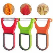 Magic Trio Peelers Slicer Shredder Peeler Trio Multifunction Vegetable F... - $7.24