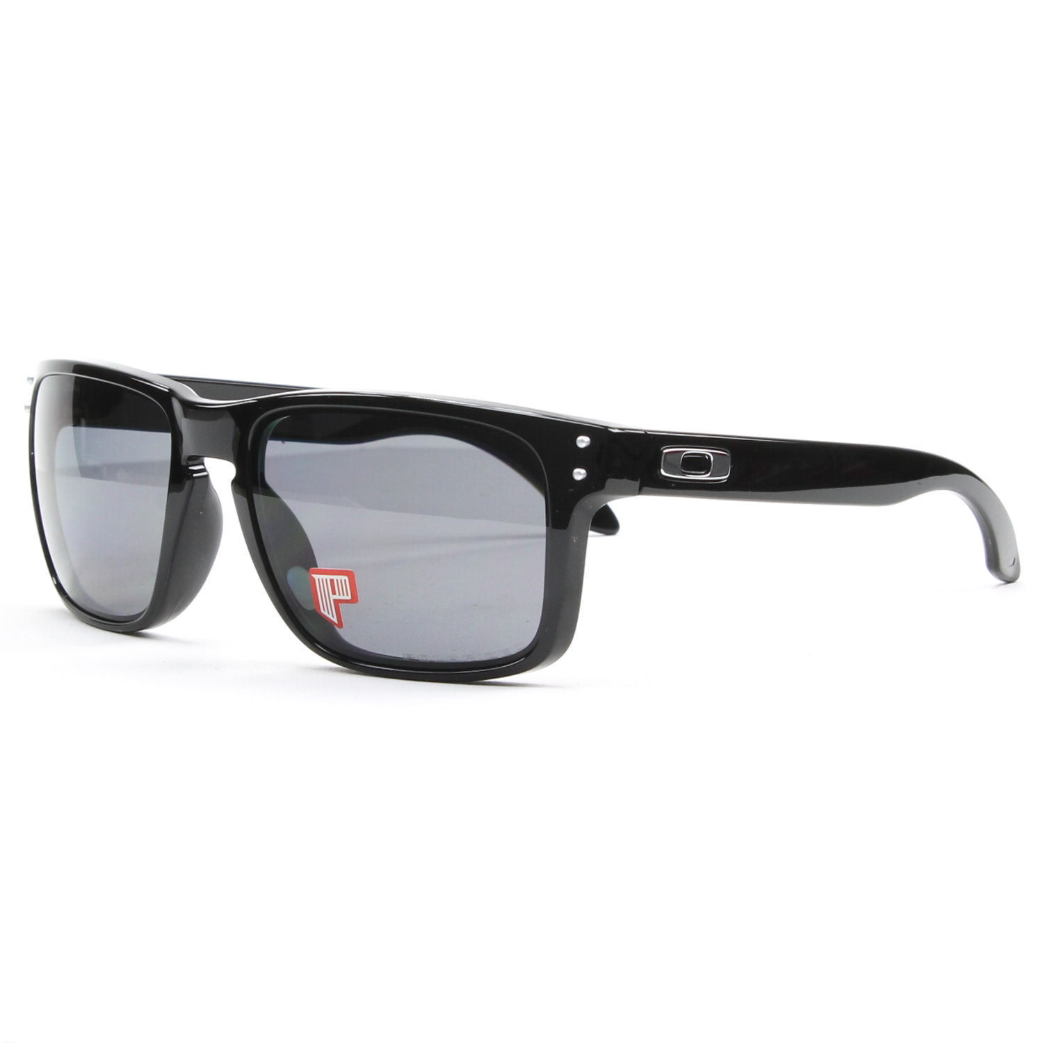 New Oakley Holbrook Polished Black Grey and 5 similar items bbfbdf068c