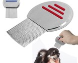 Cat Flea Comb Stainless Steel Puppy Dog Grooming Brush Cat Hair Fur Shedding Com