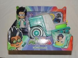 New PJ Masks Romeo Lab Car Disney Junior Super Hero Catboy Gekko Owlette - $19.79