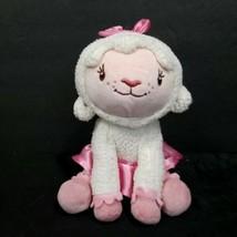 Disney Doc Mcstuffins Lamb Lambie plush Beanie stuffed animal toy doll L... - $14.84