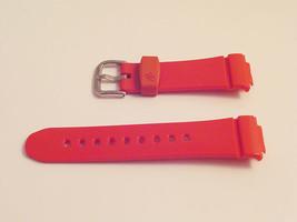 Ladies Watch Strap CASIO BABY G BGA130 Red Rubber/Resin New Original Ban... - $24.23