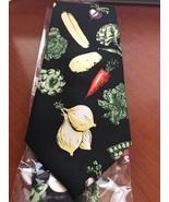 NEW novelty necktie w/vegetables   - $11.95