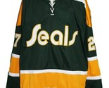 Gilles meloche  27 california golden seals retro hockey jersey green   1 thumb155 crop