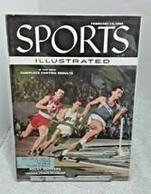 Sports Illustrated February 13 1956 Cortina Olympic Results Indoor Track - $11.87