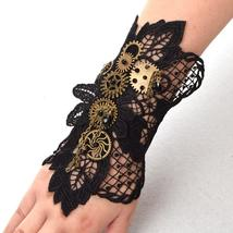Vintage Steampunk Gear Wristband - $19.95